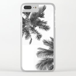 Twin Palms Clear iPhone Case