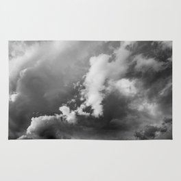 Storm Clouds Photography | Skyscape | Waterton Rug