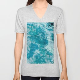 Sea Me Waving Unisex V-Neck