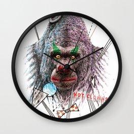 Not Clowns Wall Clock