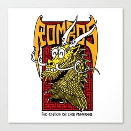 Caballero Dragon Tribute Canvas Print