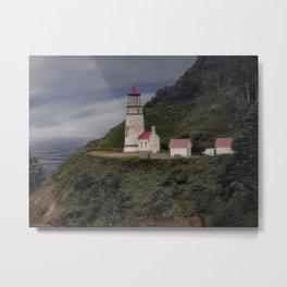 Heceta Head Lighthouse - Oregon Metal Print