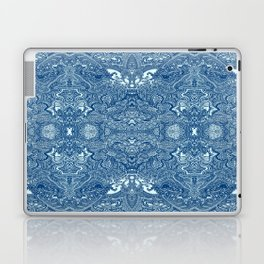 Persian Rug Blue Laptop & iPad Skin