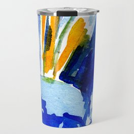 flower IX Travel Mug