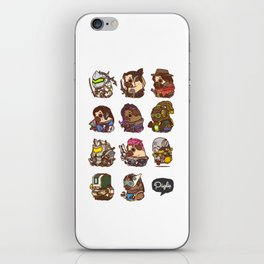 Pugliewatch Collection 2 iPhone Skin
