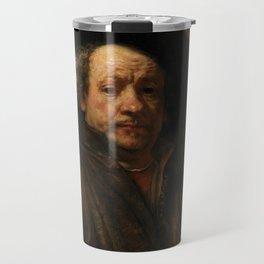Rembrandt van Rijn - Self-portrait Travel Mug