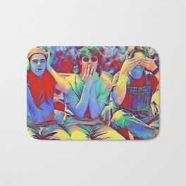 Dazed and Confused x flora Bath Mat