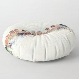 new orleans skyline Floor Pillow