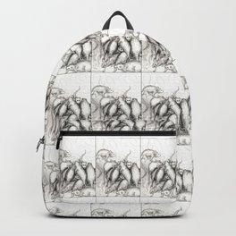 Rats Feeding on Milk Backpack