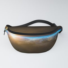 Sunrise over the Earth from Space Fanny Pack