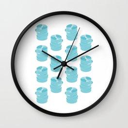 CD Infographics Wall Clock