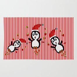 My Penguin   Christmas Spirit Rug