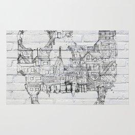 Shantytown Walls Rug
