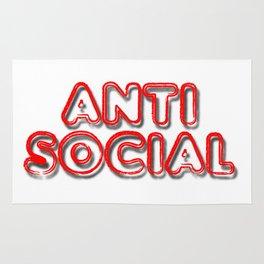 Anti Social Rug