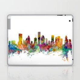 Houston Texas Skyline Laptop & iPad Skin