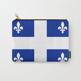 Flag of Quebec Carry-All Pouch