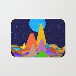 Fanciful Hills -2 Bath Mat