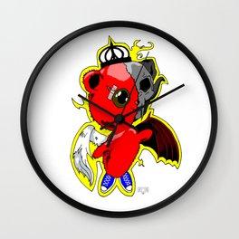 Royalty Bear Wall Clock