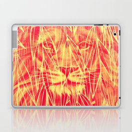 Vintage Bamboo Lion Print Laptop & iPad Skin