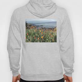 Orange blooms along the Pacific Hoody