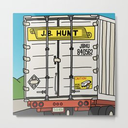 J.B. Hunt Metal Print