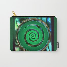 Paua Koru 1 Carry-All Pouch