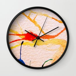 The Spider and the Web Wall Clock