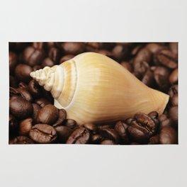 Coffee bean snail Rug