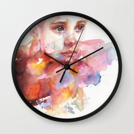 don't worry about it, you're a flower Wall Clock