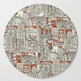 Hong Kong toile de jouy Cutting Board