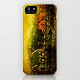 Dam Wall iPhone Case