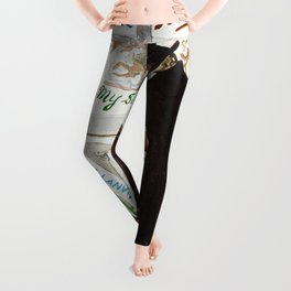 The Art Collector Leggings