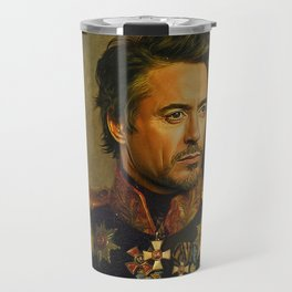 Robert Downey Jr. - replaceface Travel Mug
