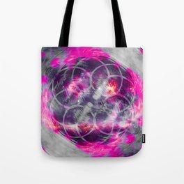 iDeal - Pink Fog Tote Bag