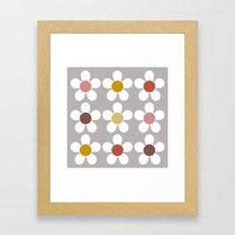 Spring Daisies Framed Art Print
