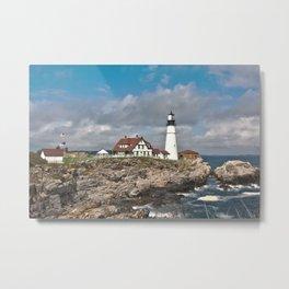 Port Head Lighthouse Metal Print