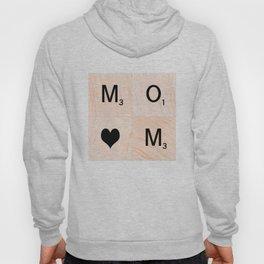 Gift for MOM Scrabble Tile Art - Mother's Day Hoody
