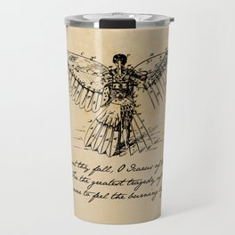 Oscar Wilde - Icarus Travel Mug