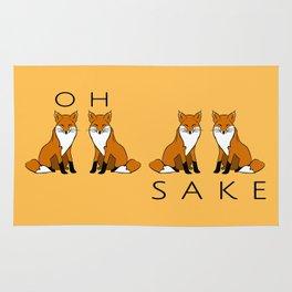 Oh Four Fox Sake - Rug