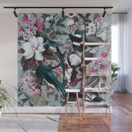 Floral and Birds XXIV Wall Mural
