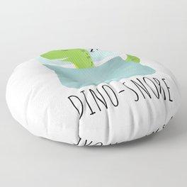 Dino-Snore Floor Pillow