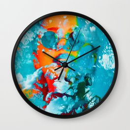 Sana, the colorful woman Wall Clock