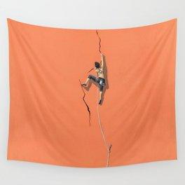 Climbing: Solitude Wall Tapestry