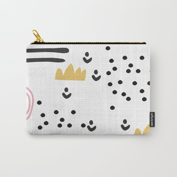 Abstract scandinvian art Carry-All Pouch