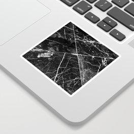 Black Granite Tiles Sticker