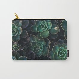 The Succulent Green Carry-All Pouch