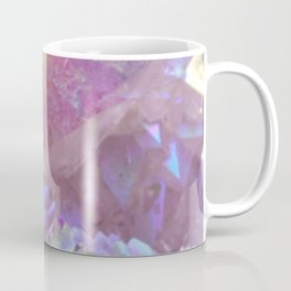 Pink Aura Crystals Coffee Mug