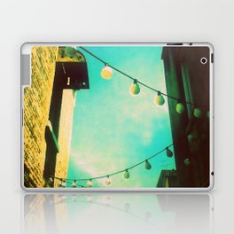 Valley Laneway in Lights  Laptop & iPad Skin
