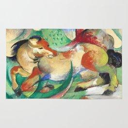 """Franz Marc """"Jumping Horse (Springendes Pferd)"""" (I) Rug"""
