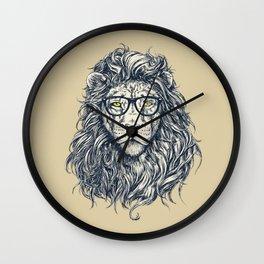 lion sketch Wall Clock